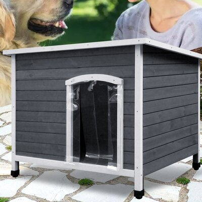 Tucker Murphy Pet Grose Wooden Dog House Products In 2019