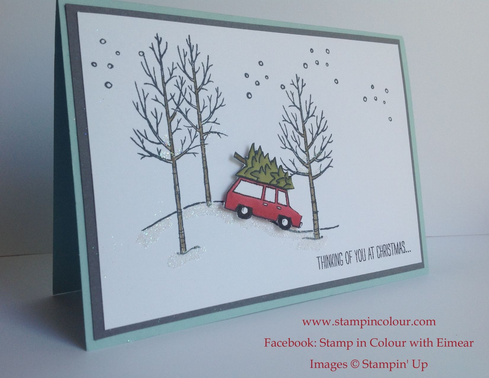 Christmas Card Ideas and Inspiration using Stampin Up products ...