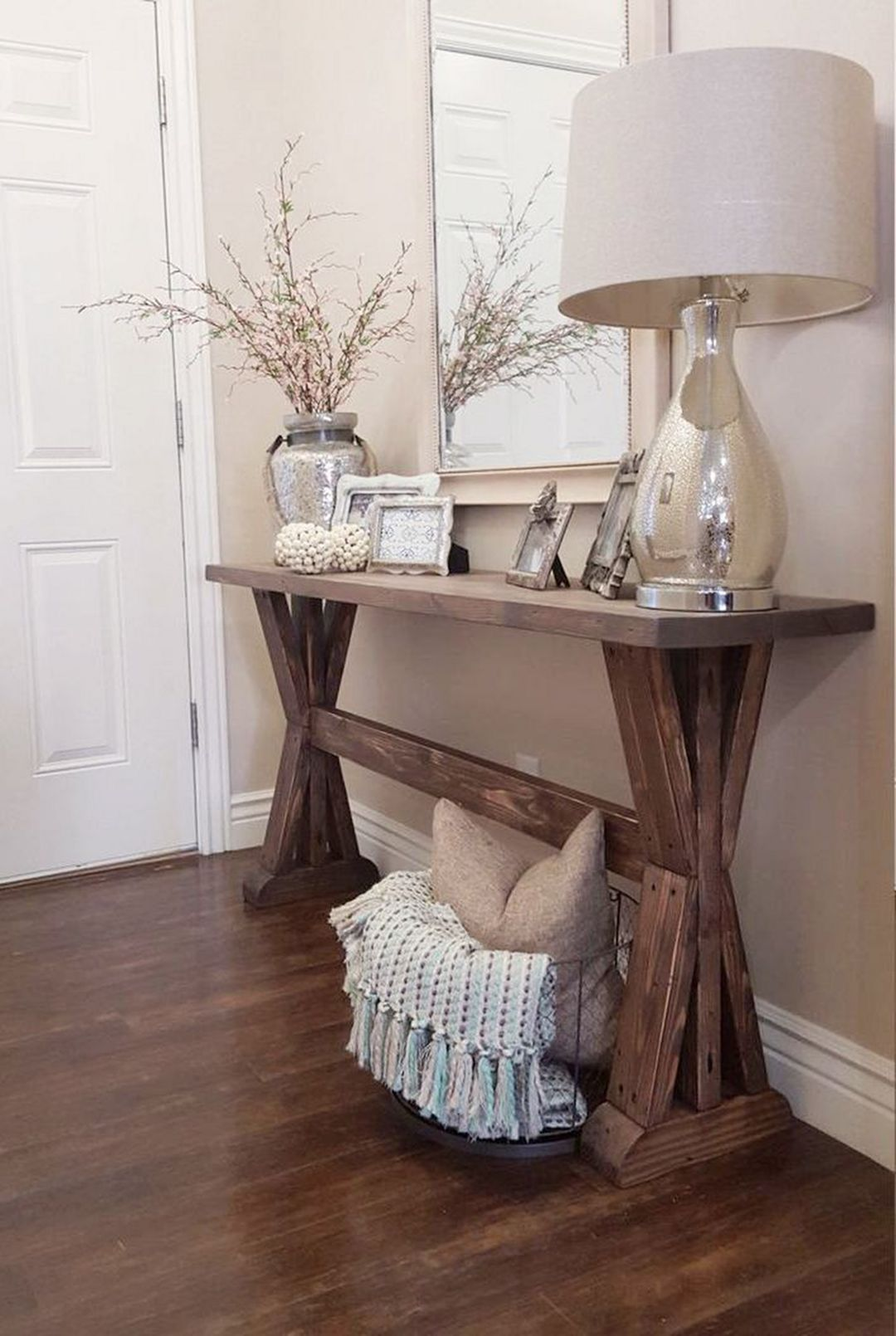Luxury Rustic Hallway Table