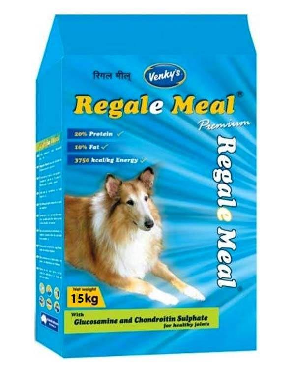 Venkys Regale Meal Dog Food 15kg Dog Food Recipes Dog Food Online Best Dog Food