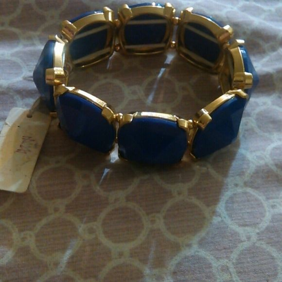 Fashion Bracelet Blue Fashion Bracelet Impression Jewelry Bracelets