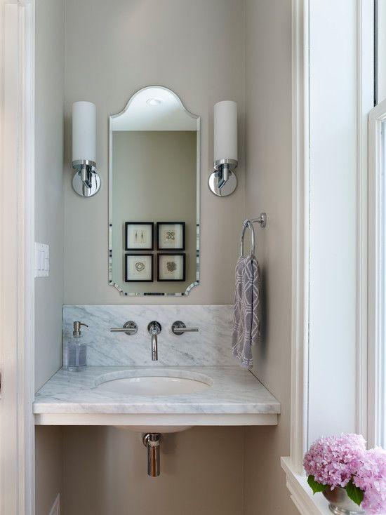 Elegant Mirrors for Small Bathrooms