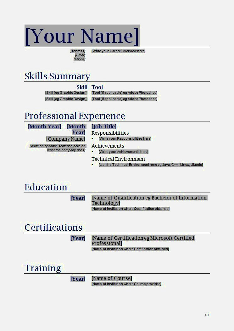 Cv Template For 40 Year Old Resume Format Free Printable Resume Templates Functional Resume Template Free Printable Resume