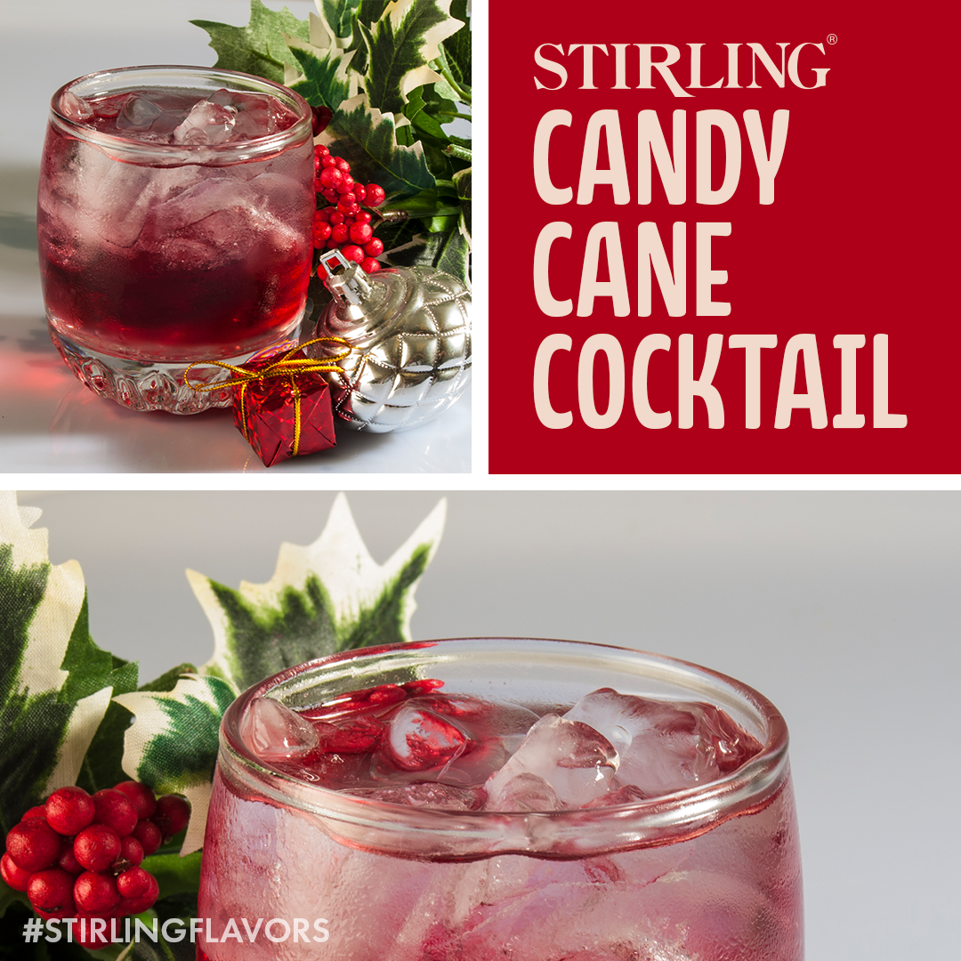 Candy Cane Cocktail Recipe Candy Cane Cocktails Mocktail Recipe