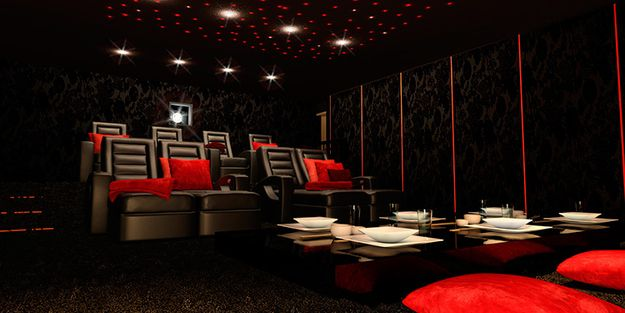 Classic Man Cave Zen : 26 home theaters you wish owned zen style playrooms and luxury