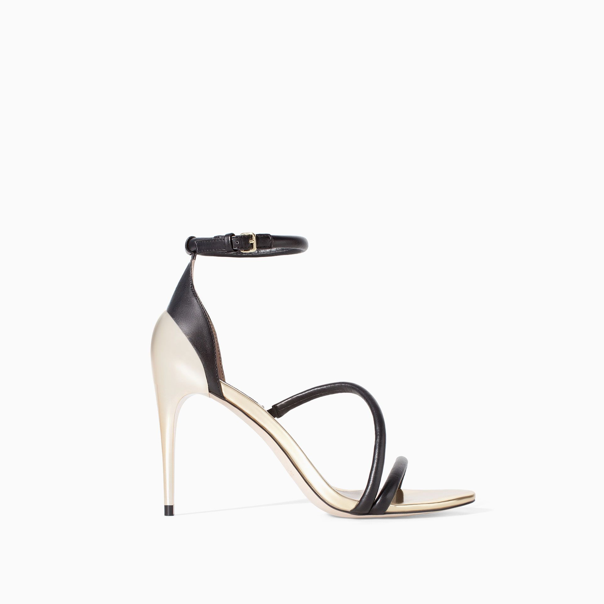 ZARA - WOMAN - HIGH HEEL STRAPPY SANDALS
