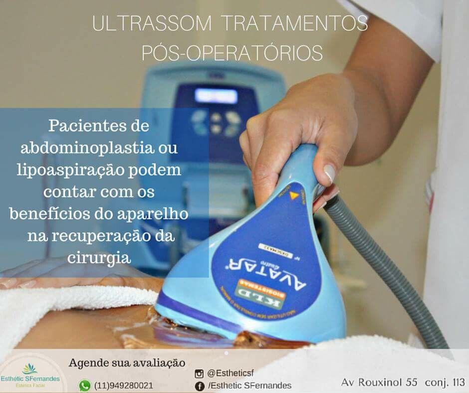 ultrassom no pos operatorio drenagem posoperatorio