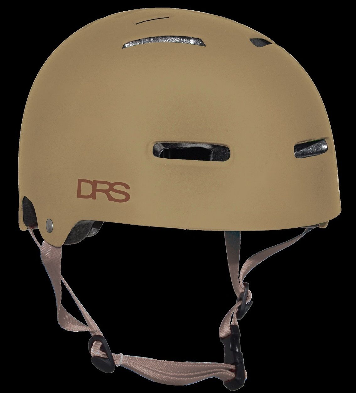 DRS SKATE SCOOTER BMX APPROVED ADJUSTABLE HELMET - KHAKI - Kick Push Skate and Scooter Store
