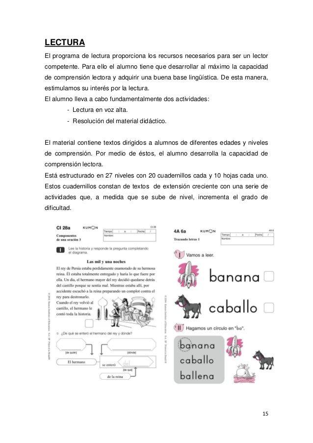 Resultado de imagen para fichas de kumon gratis | lecturas ...