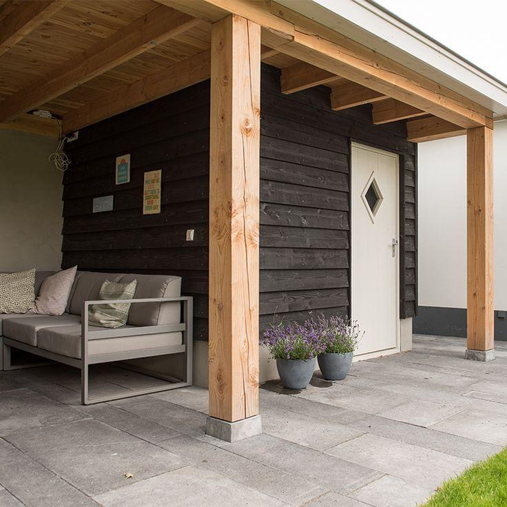 Gartenhaus mit Veranda Holzlaube SUSANNA 530 x 320 cm, 44