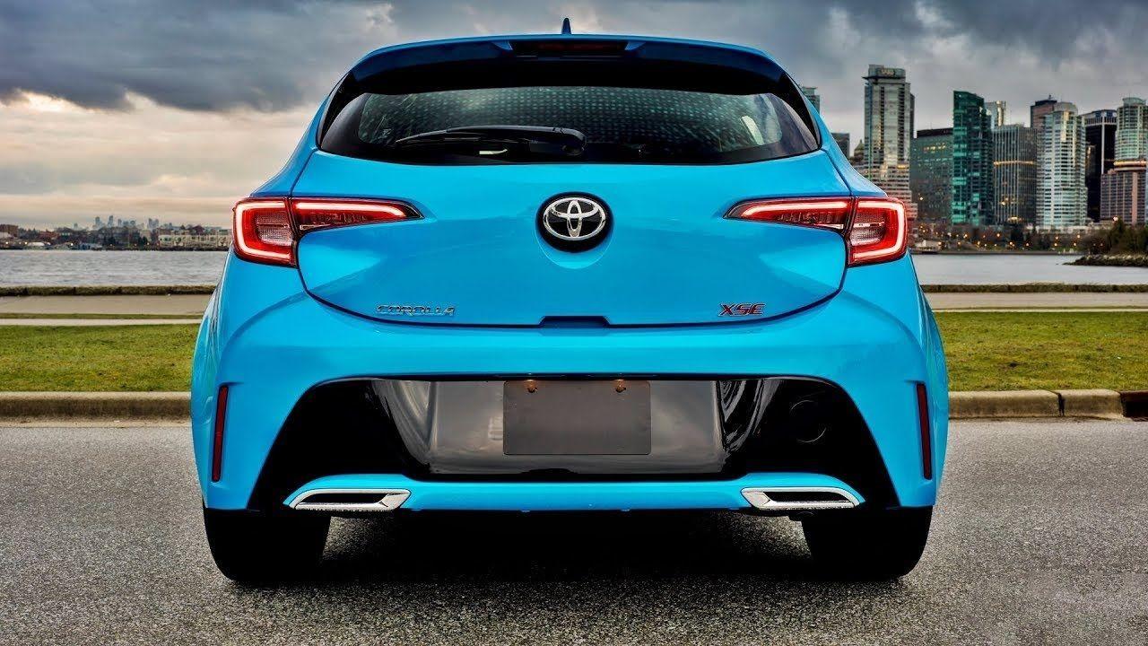 Toyota Corolla Hatchback XSE del 2020, más versátil y