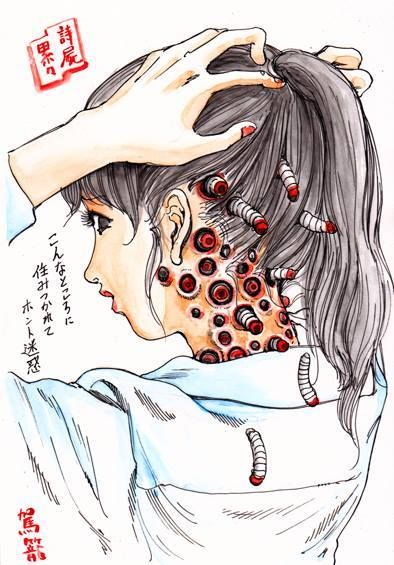 a c shintaro kago this gives me the creepy chills but i love it