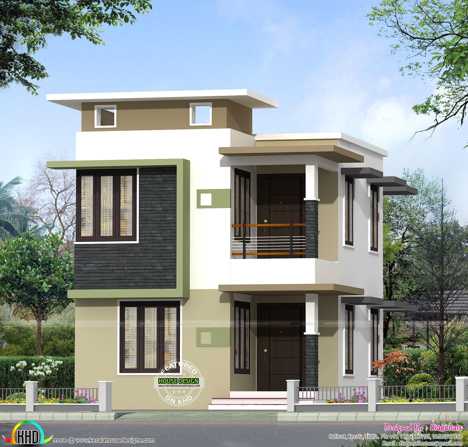 1631 Sq Ft House Plan Jpg 1920 1834 Falseceilingideassimple Small House Design House Elevation Duplex House Design