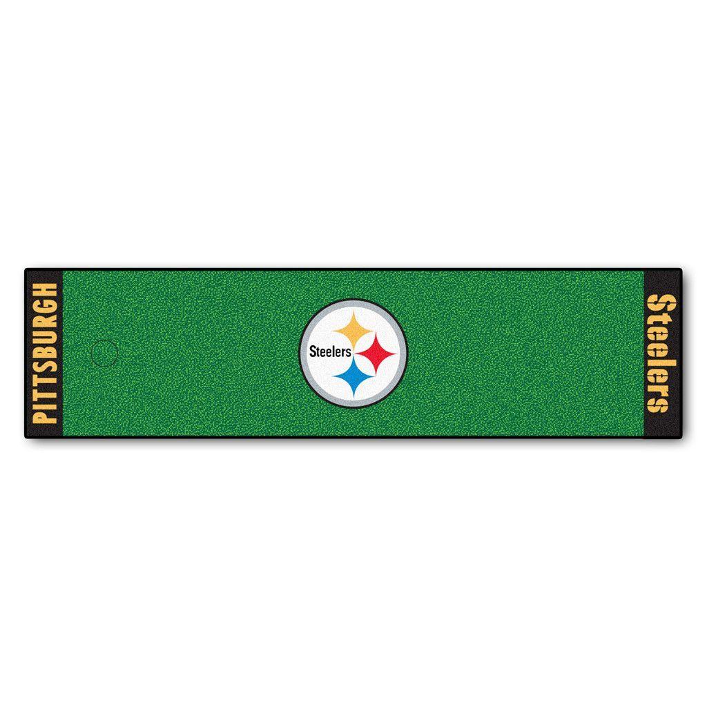 Pittsburgh Steelers Golf Putting Green Mat