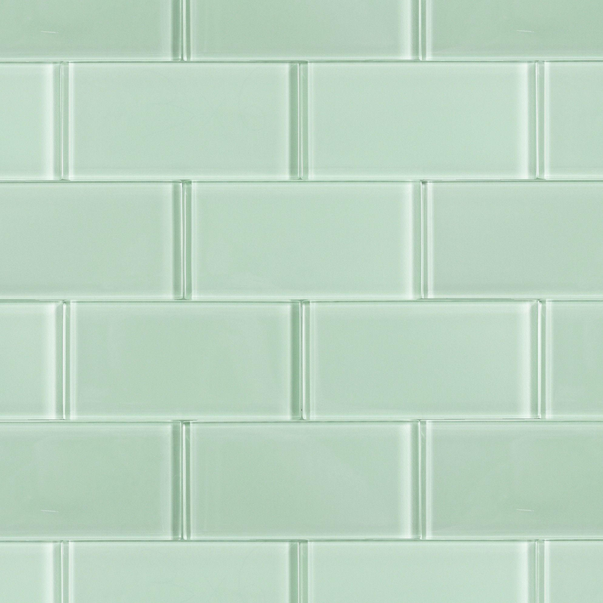 Loft Seafoam Green Glass Subway Tile 3x6 In 2020 Glass Tile Bathroom Glass Subway Tile Bathroom Sea Glass Tile