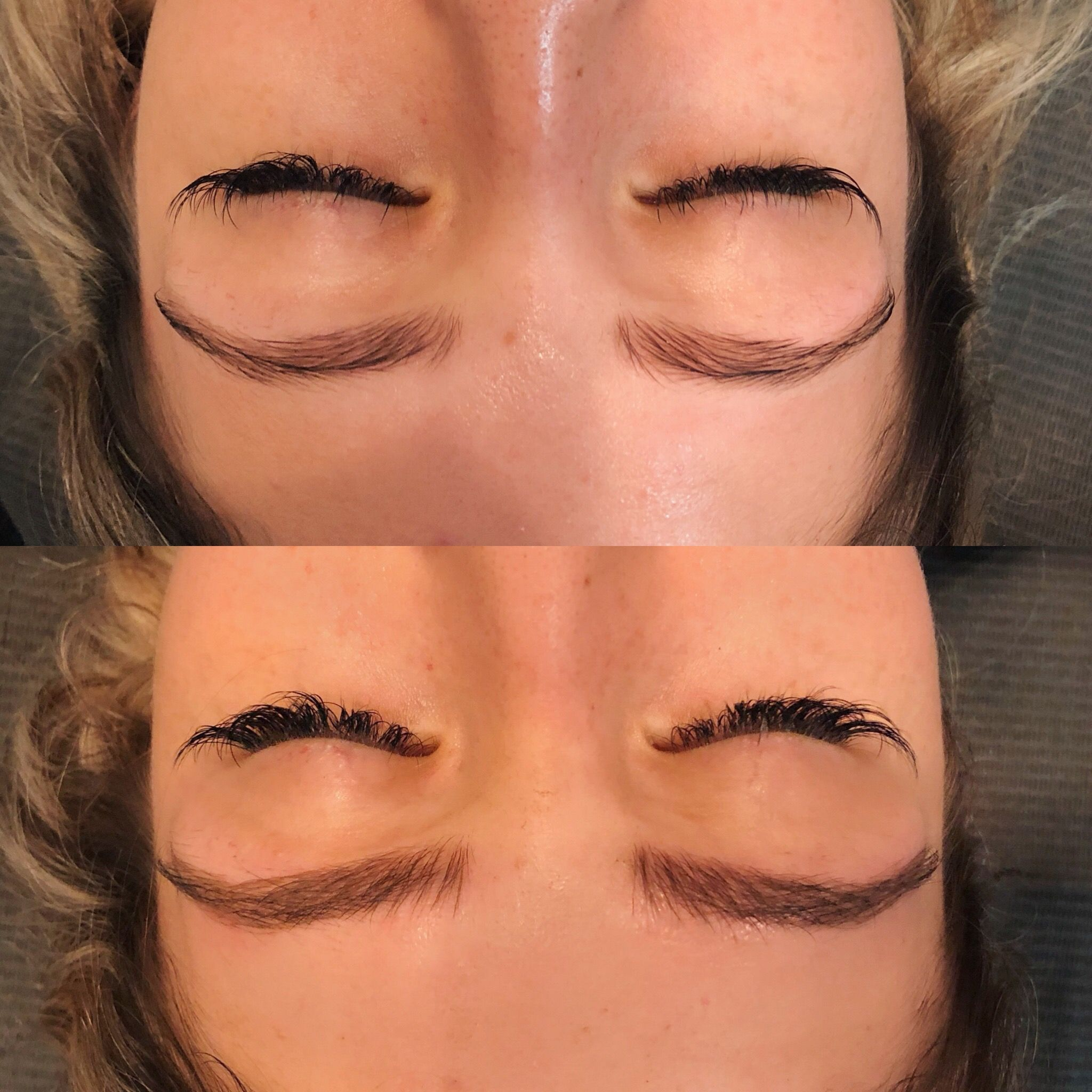 Fluffy brows😻 microblading before & after   Microblading ...