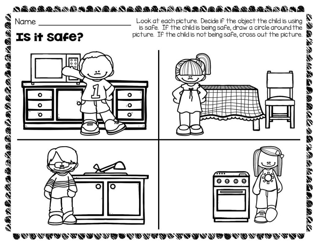 How To Easily Teach Kitchen Safety In Preschool