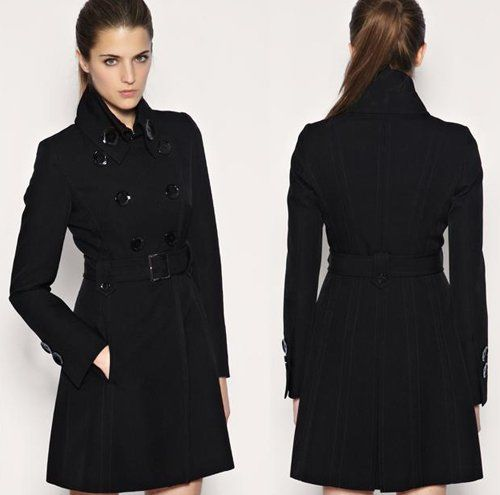 Trenchcoat | Elysium Fashion | Pinterest | Black trench coats ...