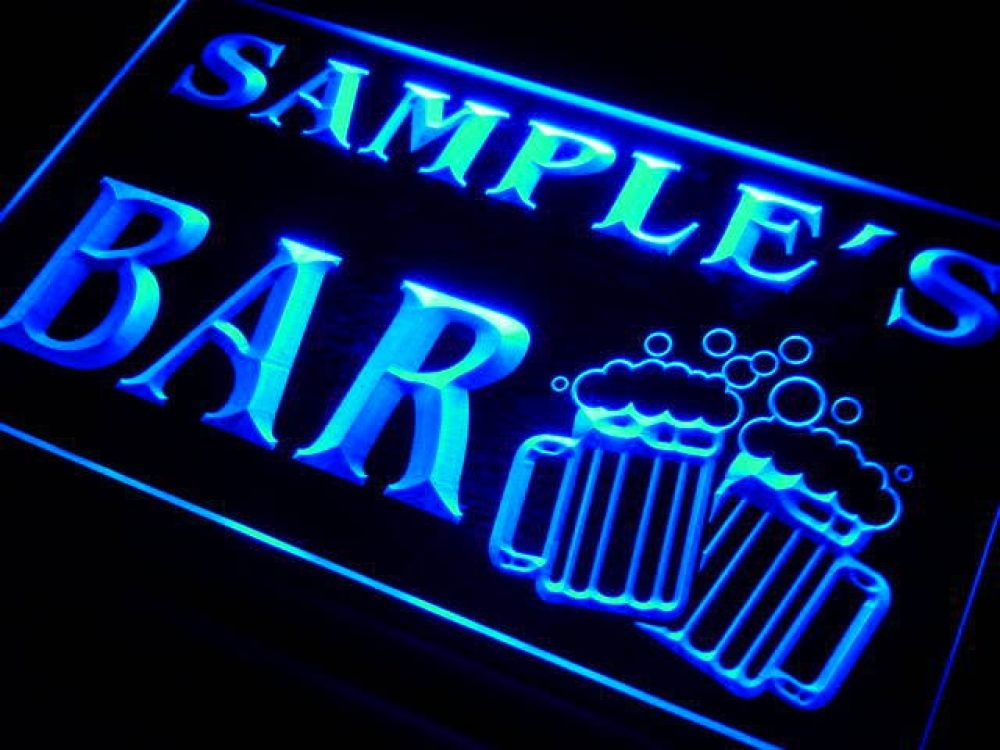 w-tm Name Personalized Custom Home Bar Beer Mugs Cheers Neon Sign with On/Off Switch 7 Colors 4 Sizes #custommugs