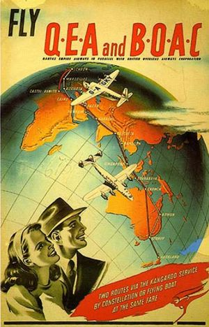 World Airlines Posters 103 C.1948