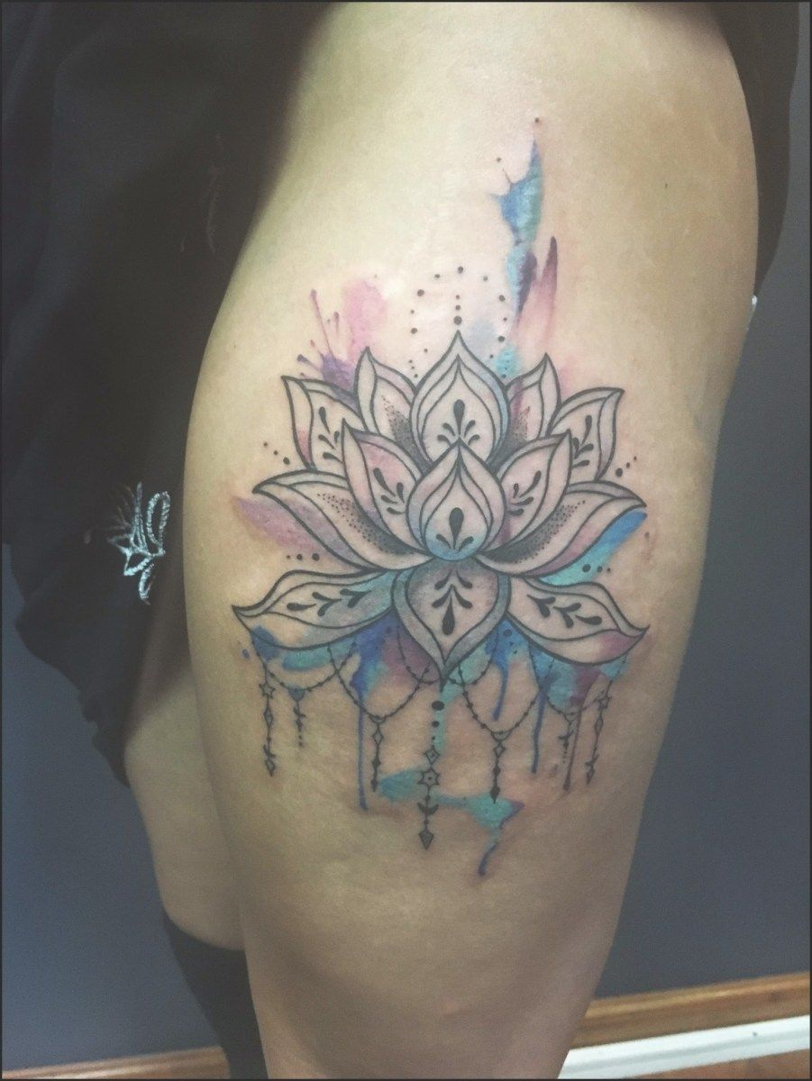 Geometric lotus flower tattoo watercolor best design south africa geometric lotus flower tattoo watercolor best design south izmirmasajfo Choice Image