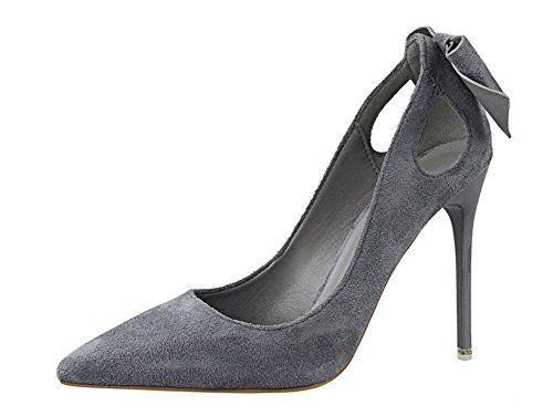 Blanc) Chaussures Converse Fashion unisexe Chaussures à talon aiguille à  bout pointu LvYuan noires femme 613891f67699