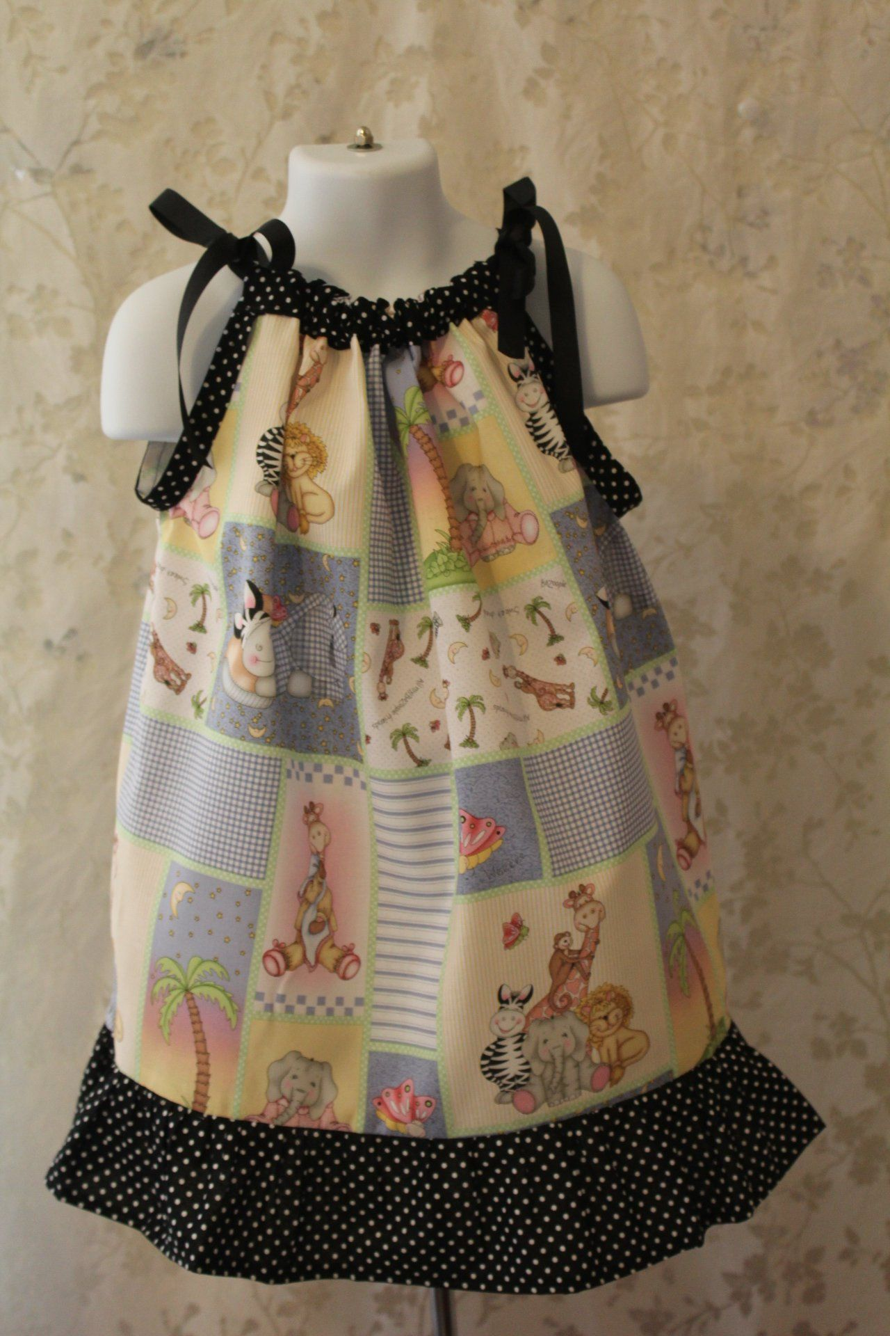 Handmade New Toddlers Dress Size 3 4t Pastel Colors Black And Etsy Toddler Dress Girls Wear How To Wear [ 1920 x 1280 Pixel ]