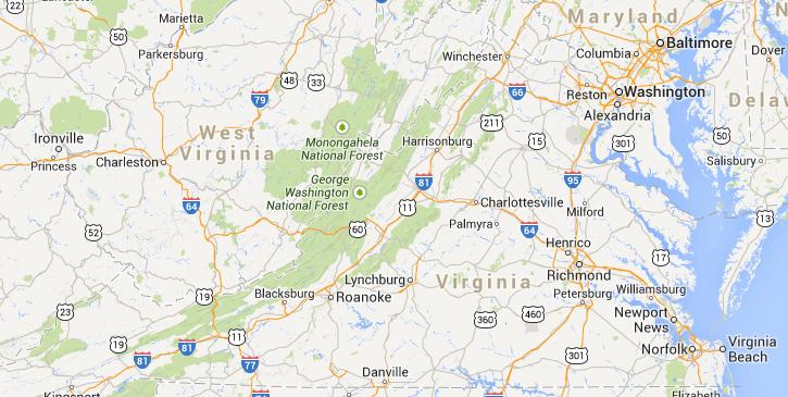 Virginia Craft Beer Breweries map Virginia Is For Lovers