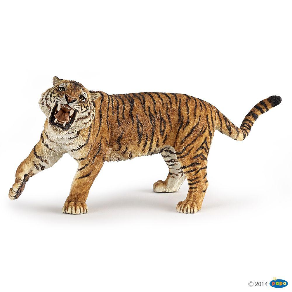 Figurine Roaring tiger Figurines WILD ANIMAL KINGDOM