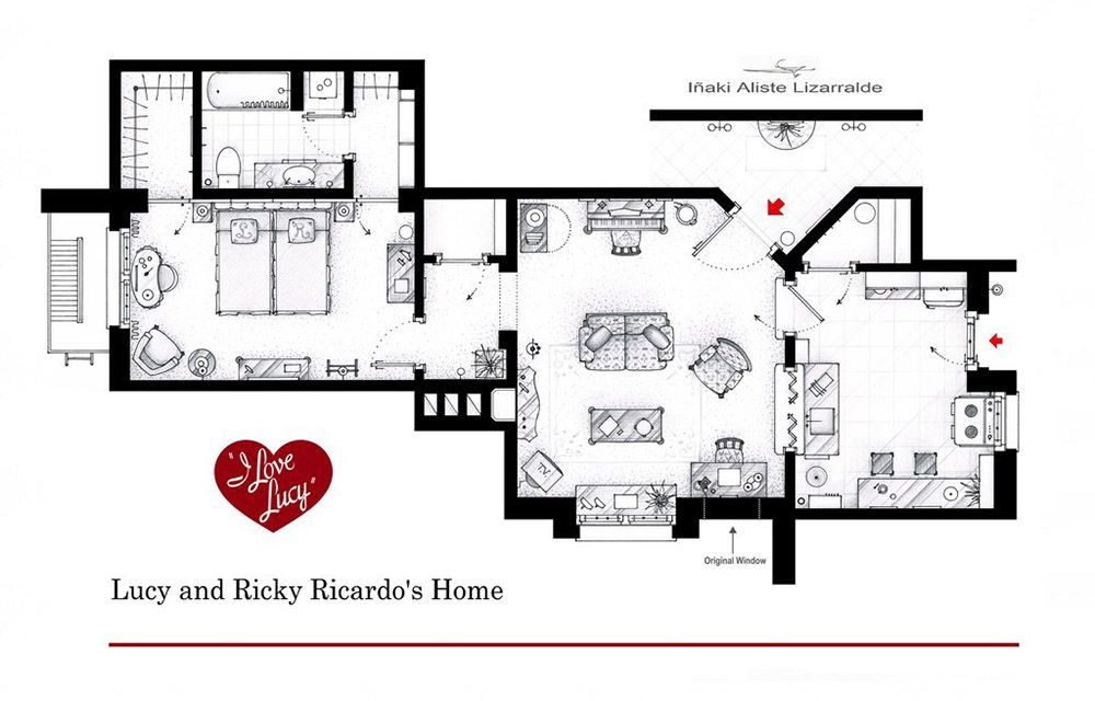 An artist recreated the floor plans for these 9 tv homes and the an artist recreated the floor plans for these 9 tv homes and the results are incredible malvernweather Images