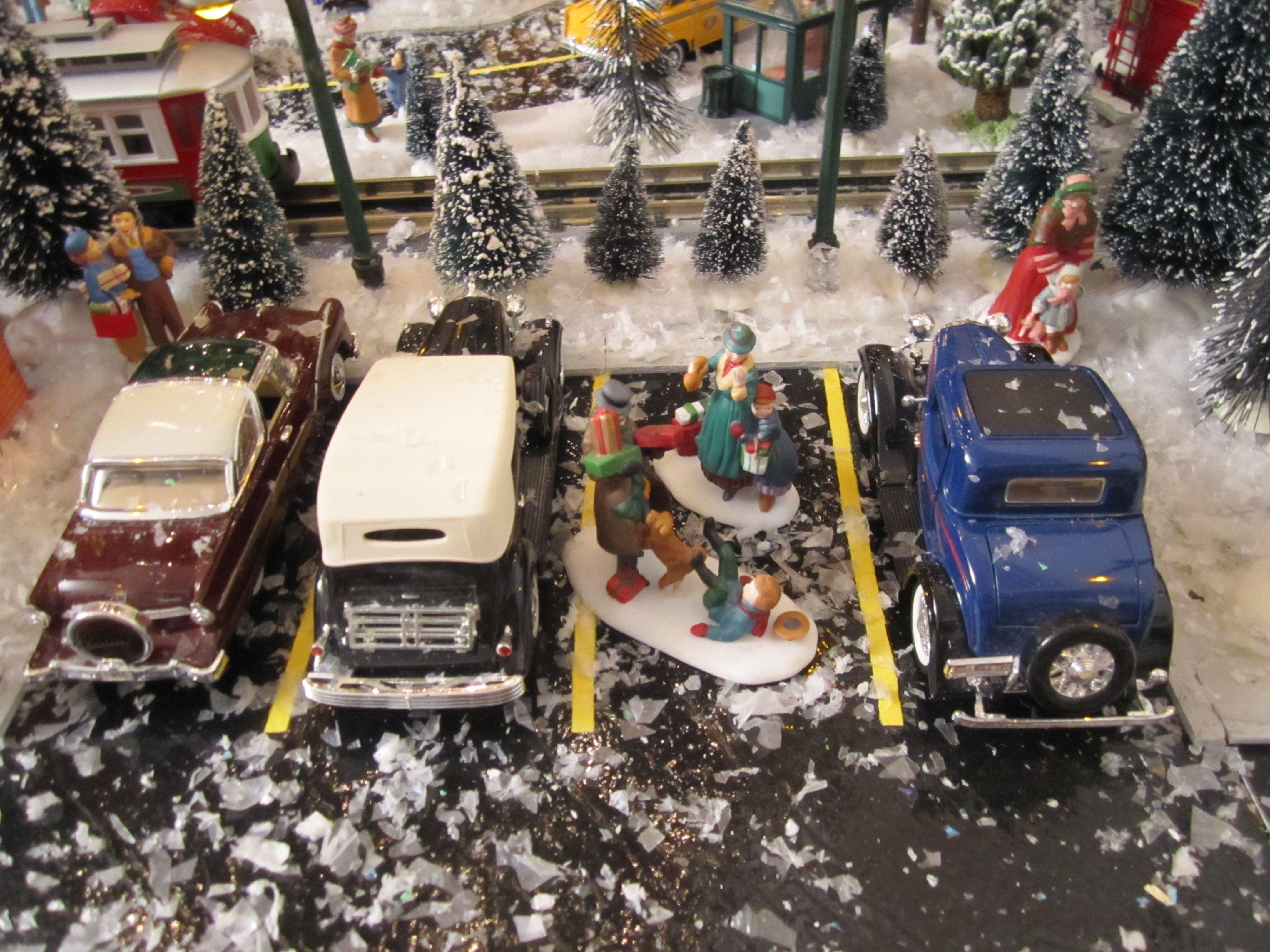 Christmas Village 2011 handmade Parking