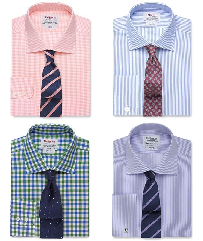 Image result for pink plaid dress shirt and tie big boy for Mens dress shirts and ties combinations