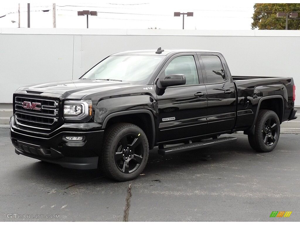2017 Onyx Black Gmc Sierra 1500 Elevation Edition Double Cab 4wd
