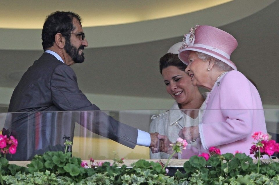 Sheikh Mohammed bin Rashid attends Royal Ascot; meets Queen Elizabeth - in pictures