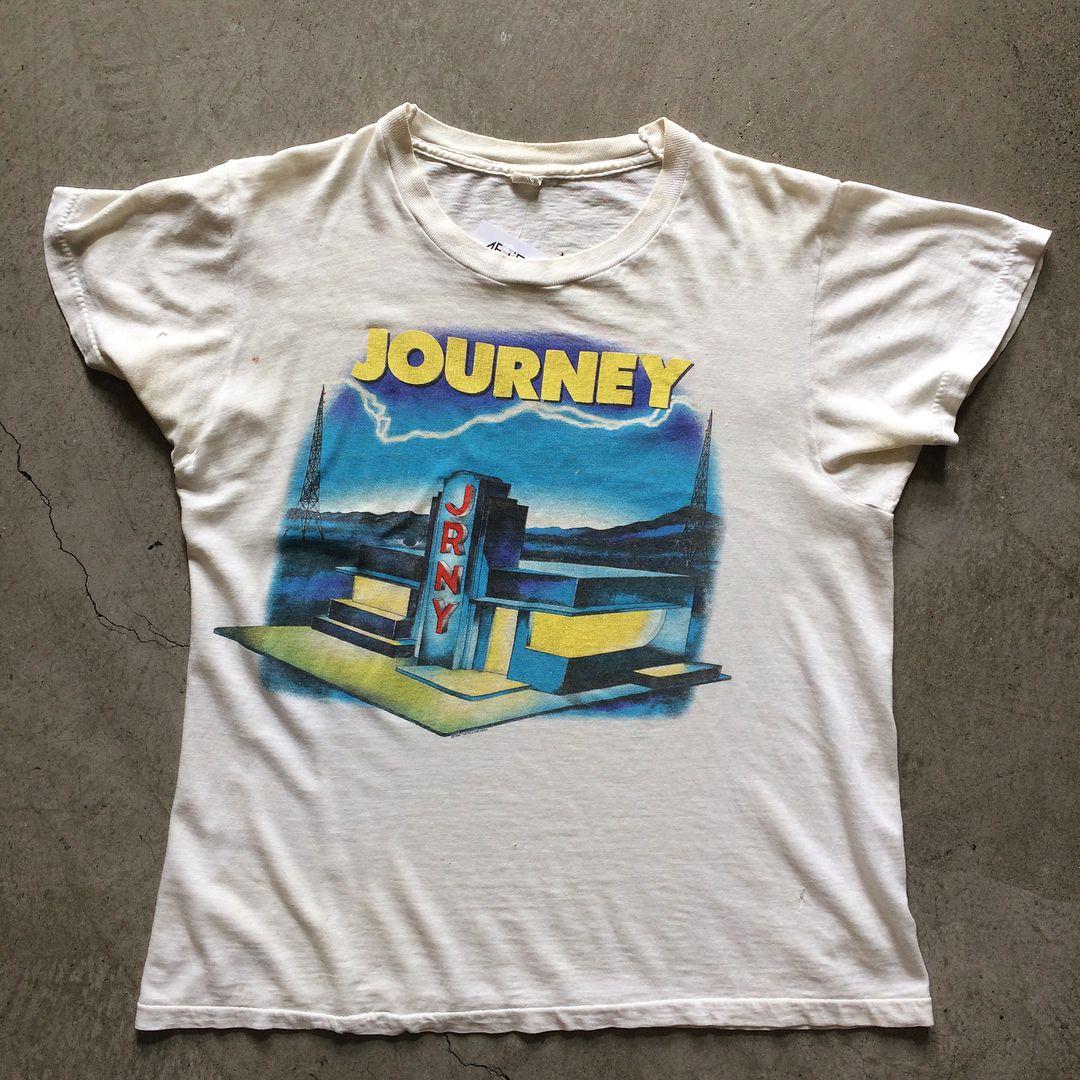 1984 journey raised on radio tshirt size m measures 20