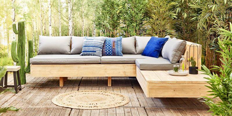 Verbazingwekkend Een zwevende loungebank maken uit steigerhout | Tuin, Vintage tuin NW-32