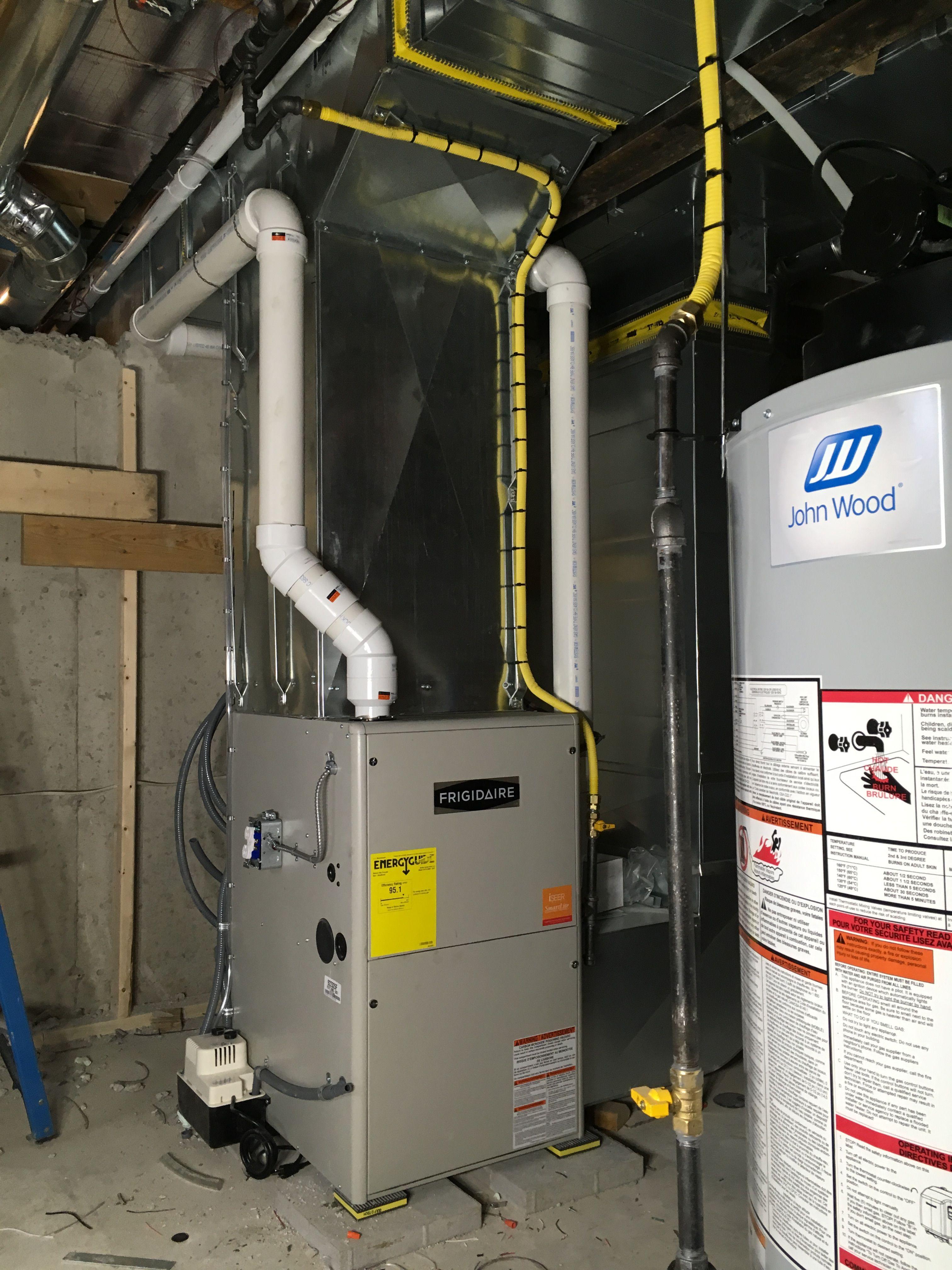 95Afue, two stage propane Frigidaire furnace 80,000 Btu