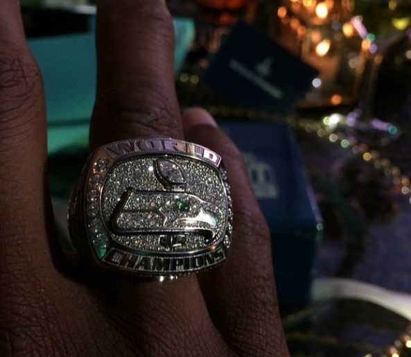 Richard Sherman Shows Off Seattle Seahawks Super Bowl Rings