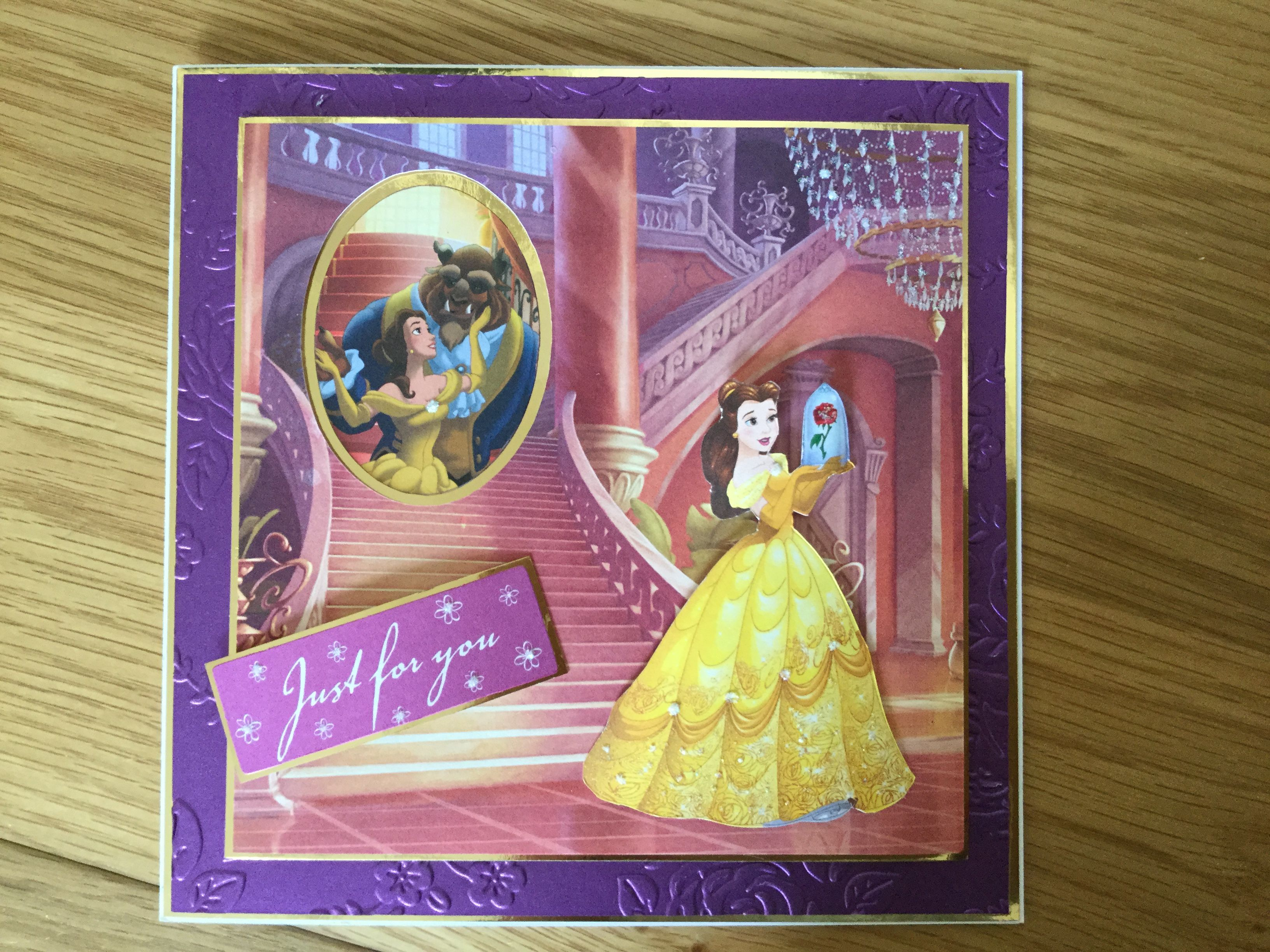 Bell Birthday Card Disney Create And Craft Pinterest Disney