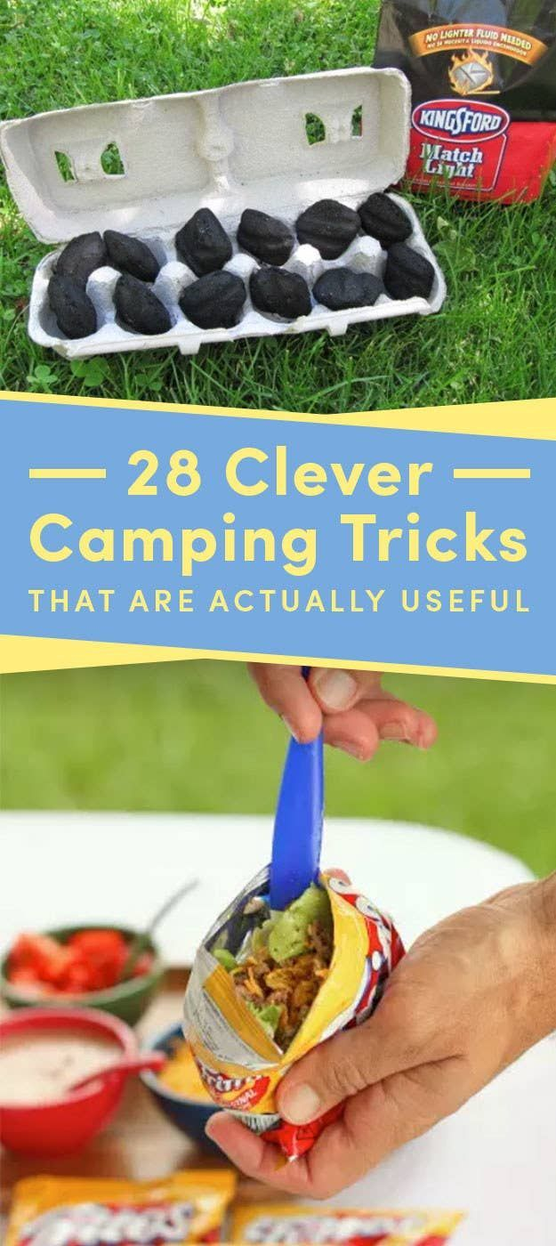 28 Clever Camping Tricks That Are Actually Useful