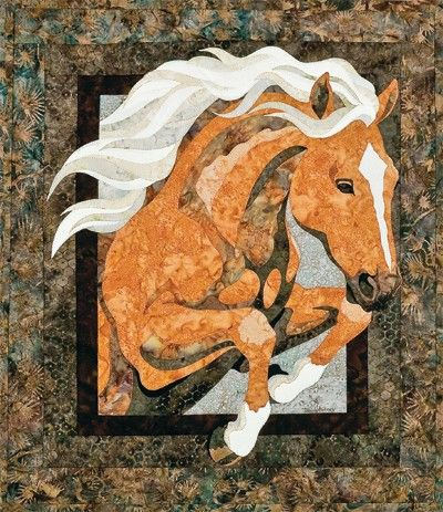 Royal Horse Bigfork Bay Toni Whitney Quilt by AliceInStitchesArts ... : quilt horse - Adamdwight.com