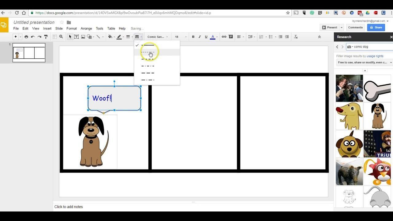 How To Create Comic Strips In Google Slides Google Slides