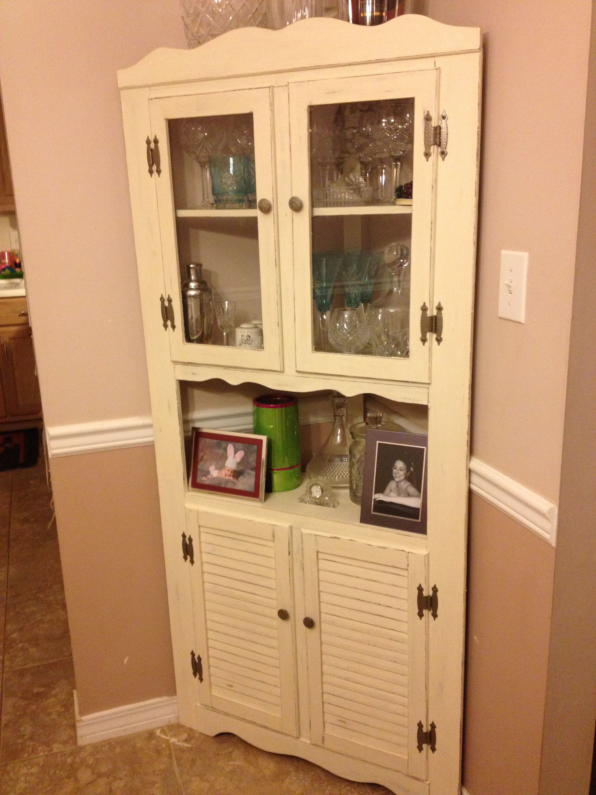 Painting Cabinets White Corner Designs Trend