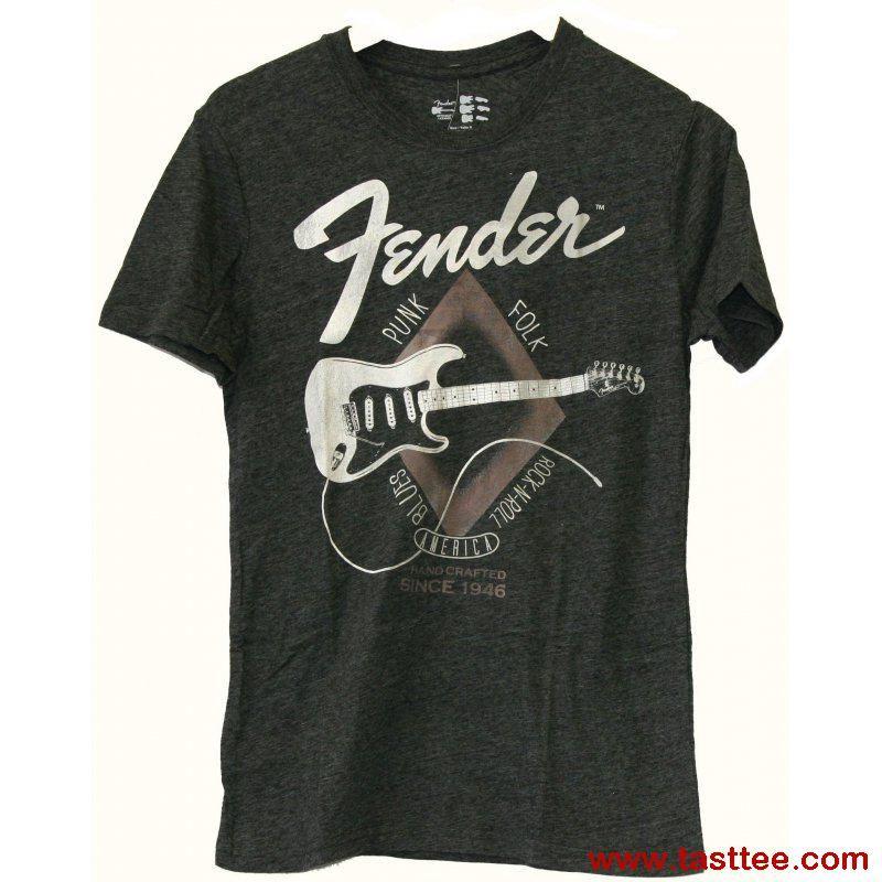 fender bass tee shirts