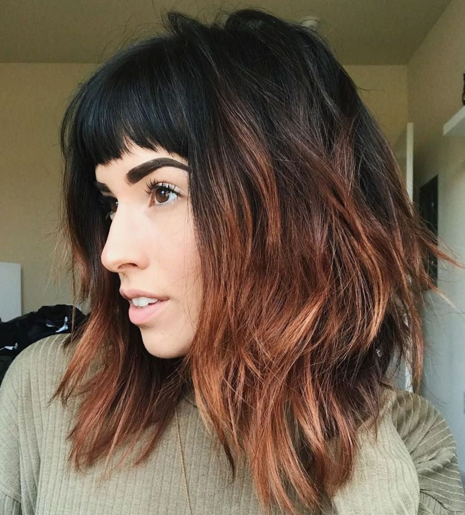 most beneficial haircuts for thick hair of any length in