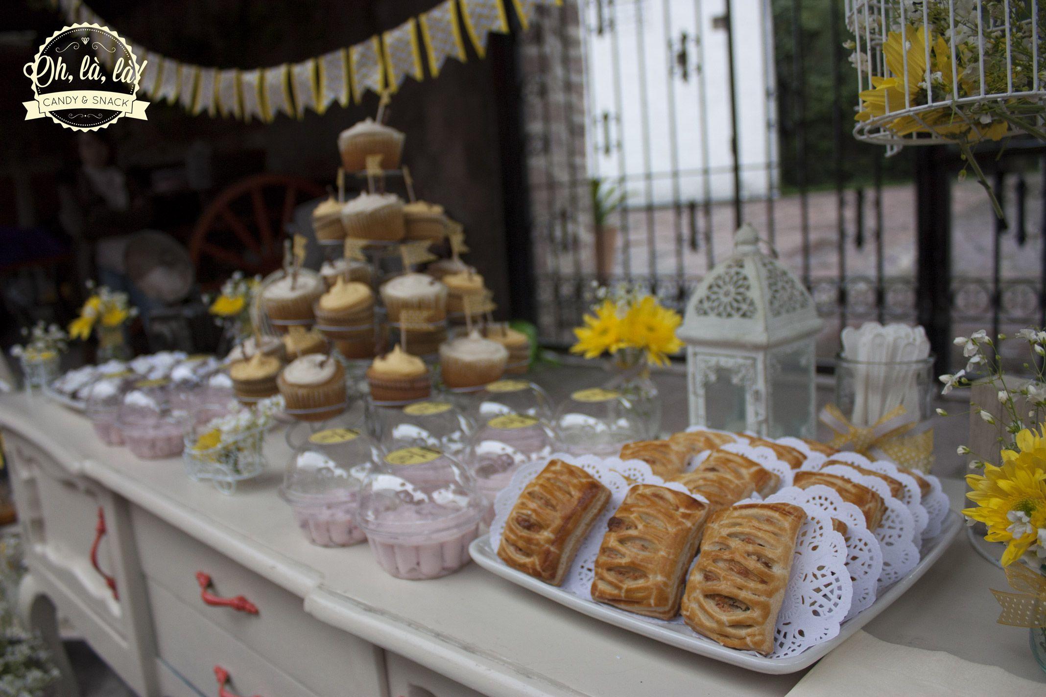 #cupcakes #fresasconcrema #duraznosconcrema #brownies #strudel