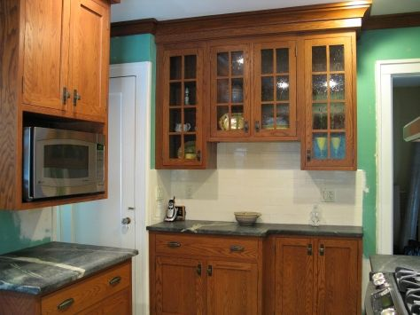 Elegant are Oak Kitchen Cabinets Outdated