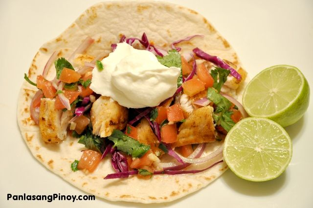 Check out tilapia fish tacos it 39 s so easy to make for Simple fish taco recipe