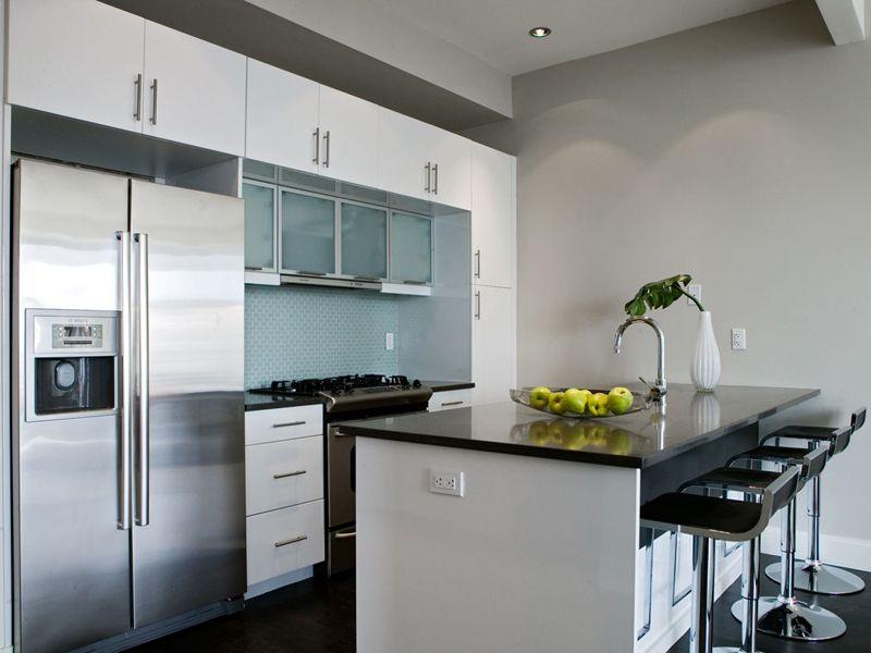 kitchen   Brooklyn kitchen, Contemporary kitchen cabinets ...