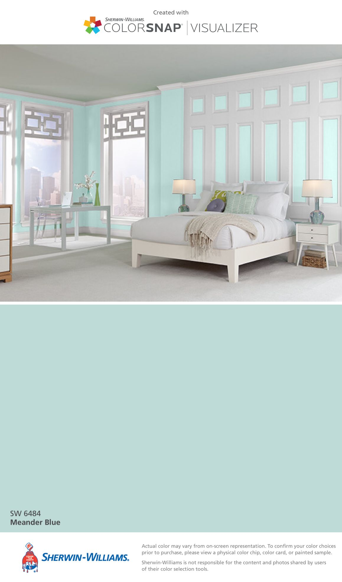Sherwin williams paint colors sherwin williams 6249 storm cloud - I Found This Color With Colorsnap Visualizer For Iphone By Sherwin Williams Meander